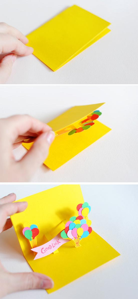 Смешную, как сделать открытку которая меняет цвет