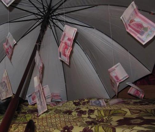 поздравления с днем рождения с зонтиком и деньгами естественной среде используется