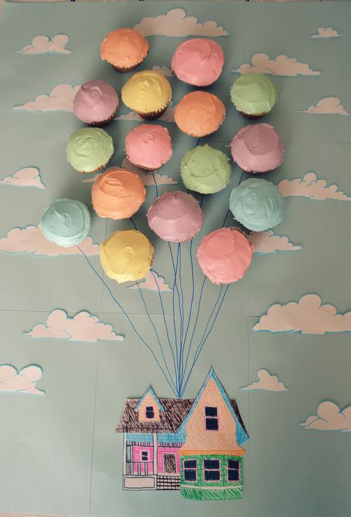 Аппликация на открытке в виде воздушных шаров, летием музыкальная